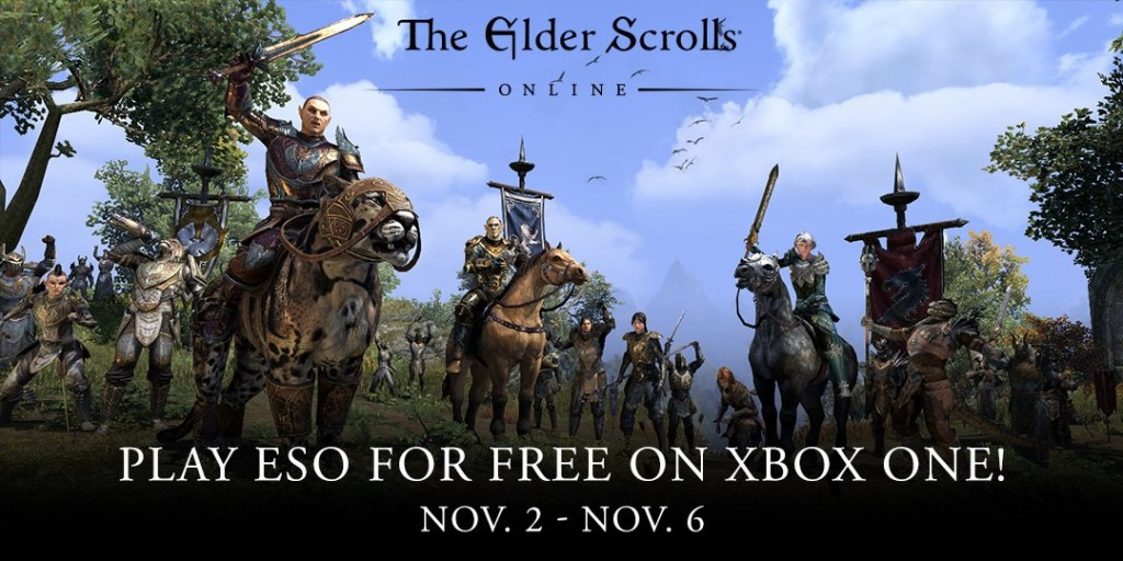 The Elder Scrolls Online Announced Xbox Play Free Event