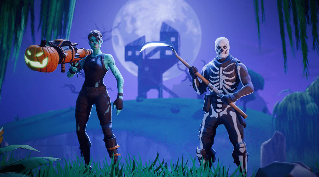 Fortnite Become the Most Popular Costumes in 2018 Halloween
